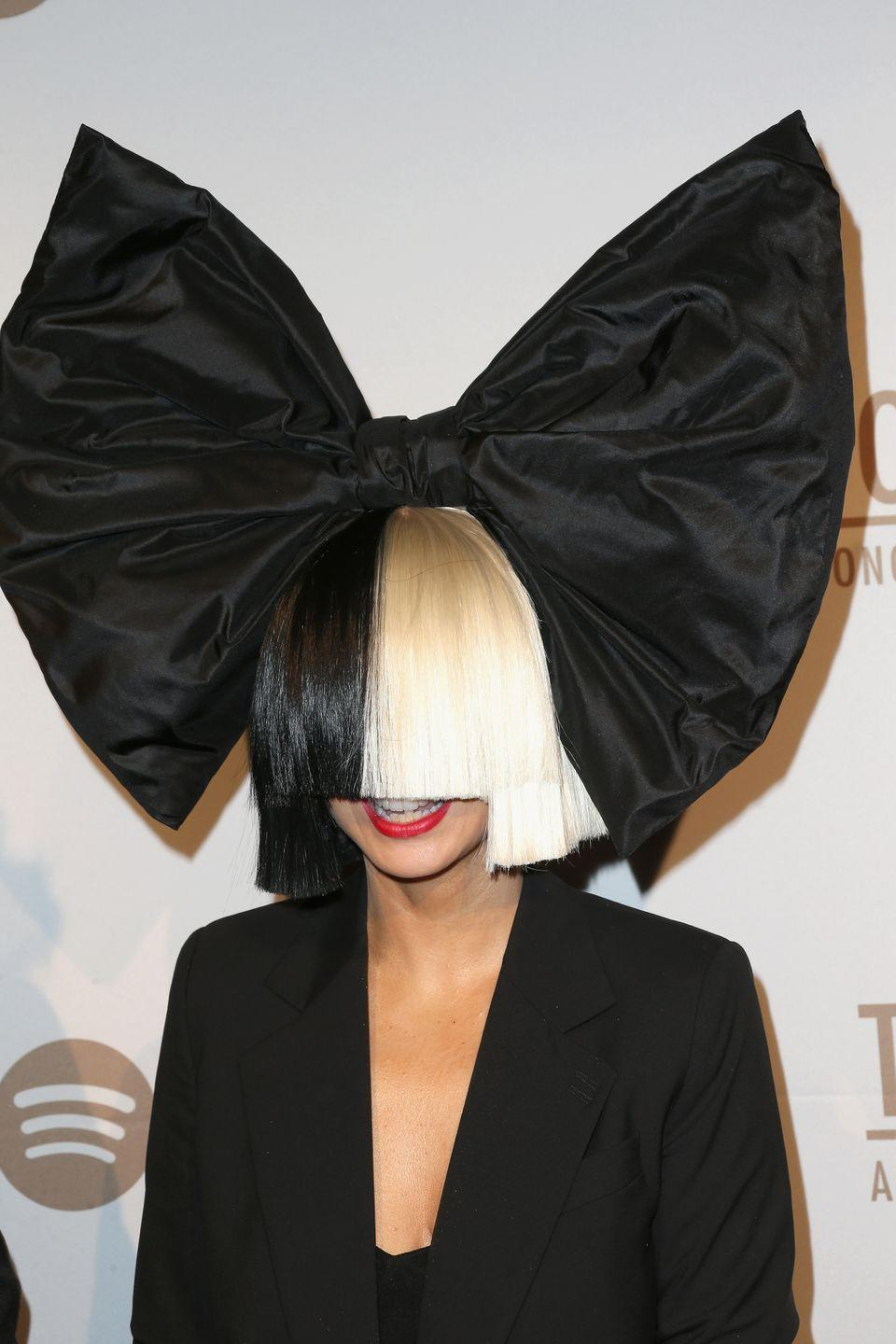 "<p>For years the singer Sia never let fans see her face, concealing her identity under a two-toned wig that came down past her nose. Why? ""If anyone besides famous people knew what it was like to be a famous person, they would never want to be famous,"" she wrote for <a href=""https://www.billboard.com/articles/5770456/my-anti-fame-manifesto-by-sia-furler"" rel=""nofollow noopener"" target=""_blank"" data-ylk=""slk:Billboard"" class=""link rapid-noclick-resp"">Billboard</a> in 2013. Fair enough.</p>"