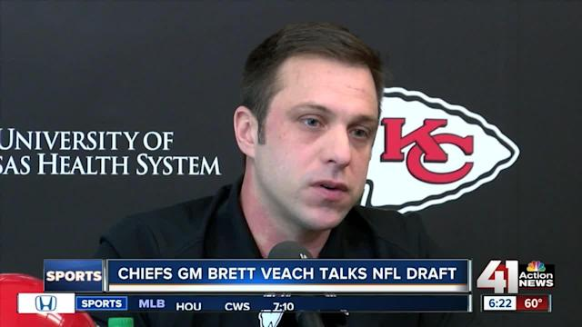 This will be Brett Veach's first NFL draft as the Chiefs General Manager.