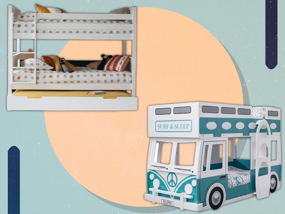 <p>Whether you want extra storage or a quirky design, a new bunk bed can enliven kids' bedrooms</p> (iStock/The Independent)