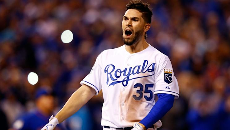 Eric Hosmer is reportedly looking for an eight-year deal in free agency. (AP)