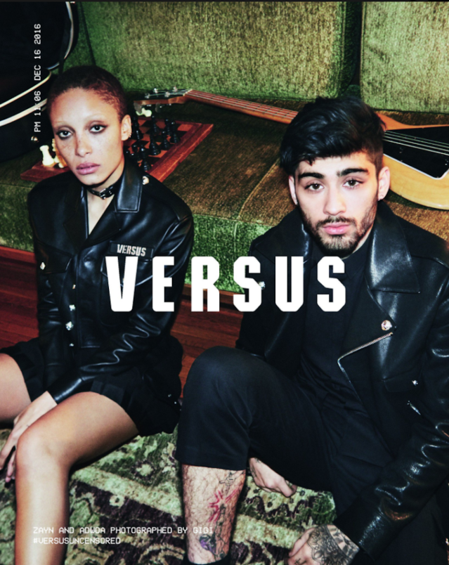"<p>22. Zayn has modeled for Versace's Versus line (Gigi played photog) and later created his own capsule collection for the brand. (Photo: <a href=""https://twitter.com/zaynmalik/status/839561400817102848"" rel=""nofollow noopener"" target=""_blank"" data-ylk=""slk:Gigi Hadid/Zayn Malik via Twitter"" class=""link rapid-noclick-resp"">Gigi Hadid/Zayn Malik via Twitter</a>) </p>"
