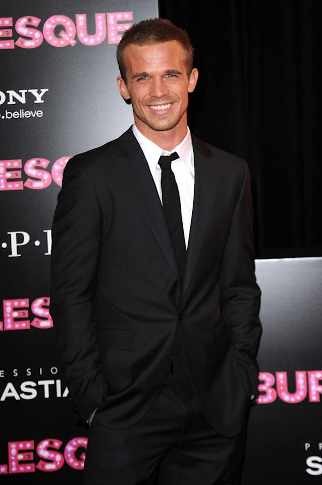 """<a href=""""http://movies.yahoo.com/movie/contributor/1809903022"""">Cam Gigandet</a> at the Los Angeles premiere of <a href=""""http://movies.yahoo.com/movie/1810125282/info"""">Burlesque</a> on November 15, 2010."""