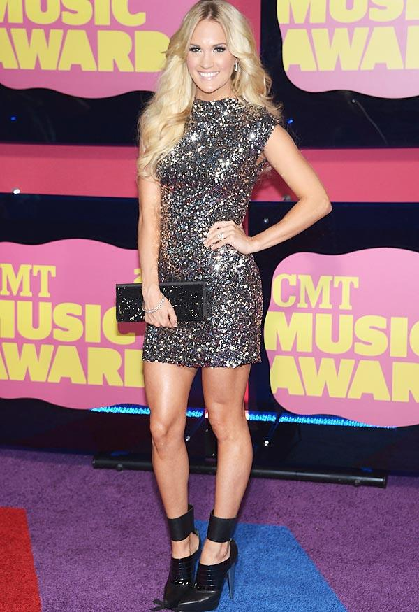 CMT Awards Best Dressed 2012: Kristen Bell, Carrie Underwood & More