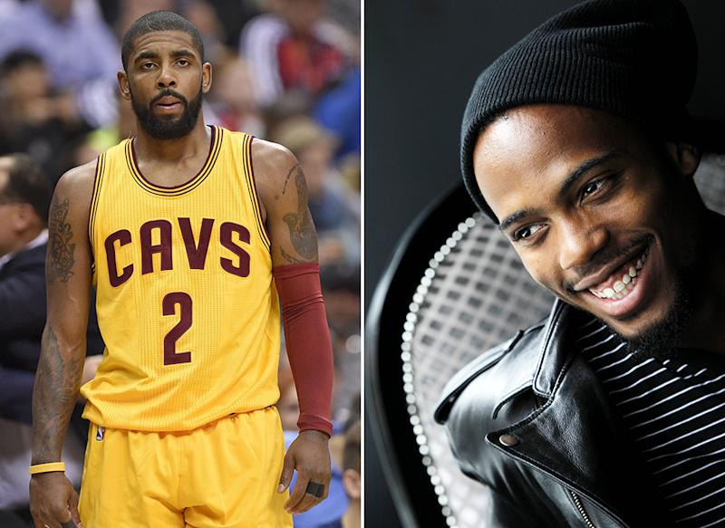 NBA star Kyrie Irving and rabber B.o.B (Bobby Ray Simmons Jr) both support the idea that the Earth is flat. (Rex)