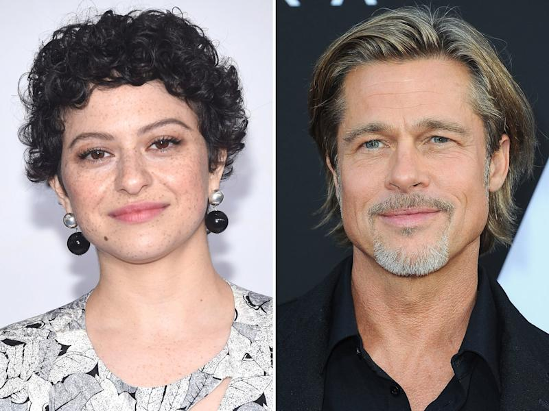 Um, Are Brad Pitt and Alia Shawkat Dating?