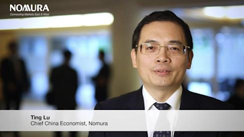Lu Ting, chief China economist for investment firm Nomura, was invited to address China's State Council on Tuesday. Photo: Twitter