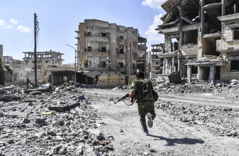 The self-described Islamic State finally lost its tenuous grip on the Syrian city of Raqqa on Tuesday as U.S.-backed forces retook the extremist group's last major urban territory following a four-month military campaign.