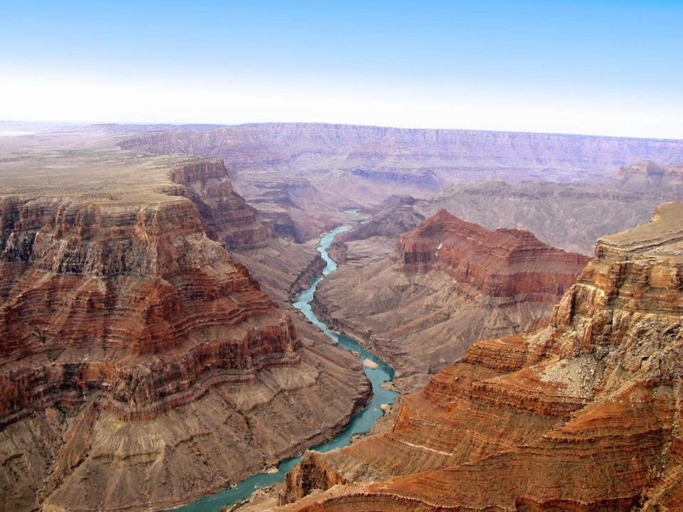 <p>The Grand Canyon became a national park after multiple attempts in 1919, spanning nearly 2,000 square miles of majestic rock, river, and wildlife. The canyon is also home to five Native American tribes: The Hopi, Navajo, Havasupai, Paiute, and Hualapai. Whether you're looking for a gorgeous overlook for fabulous picnicking views or an intense overnight hike through the canyon, there's an activity for everyone at this national treasure. </p>