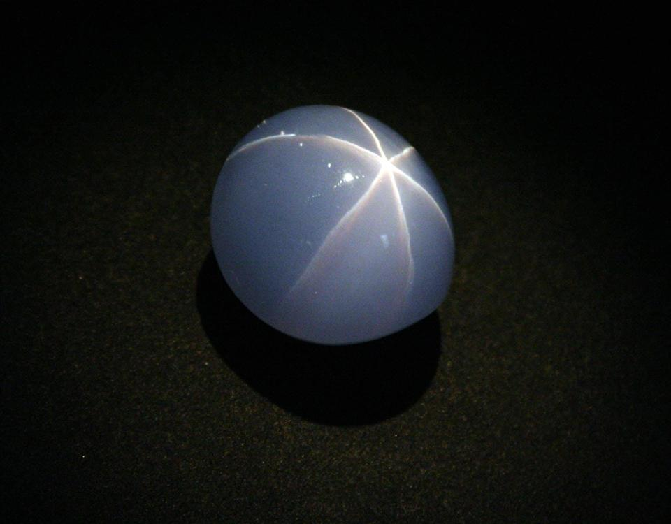 The Star of India was just one of the gems discovered by geologist George Kunz (Daniel Torres, Jr.)