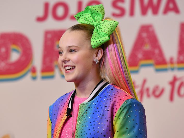 JoJo Siwa came out as gay in a Twitter post (Getty Images for Nickelodeon)