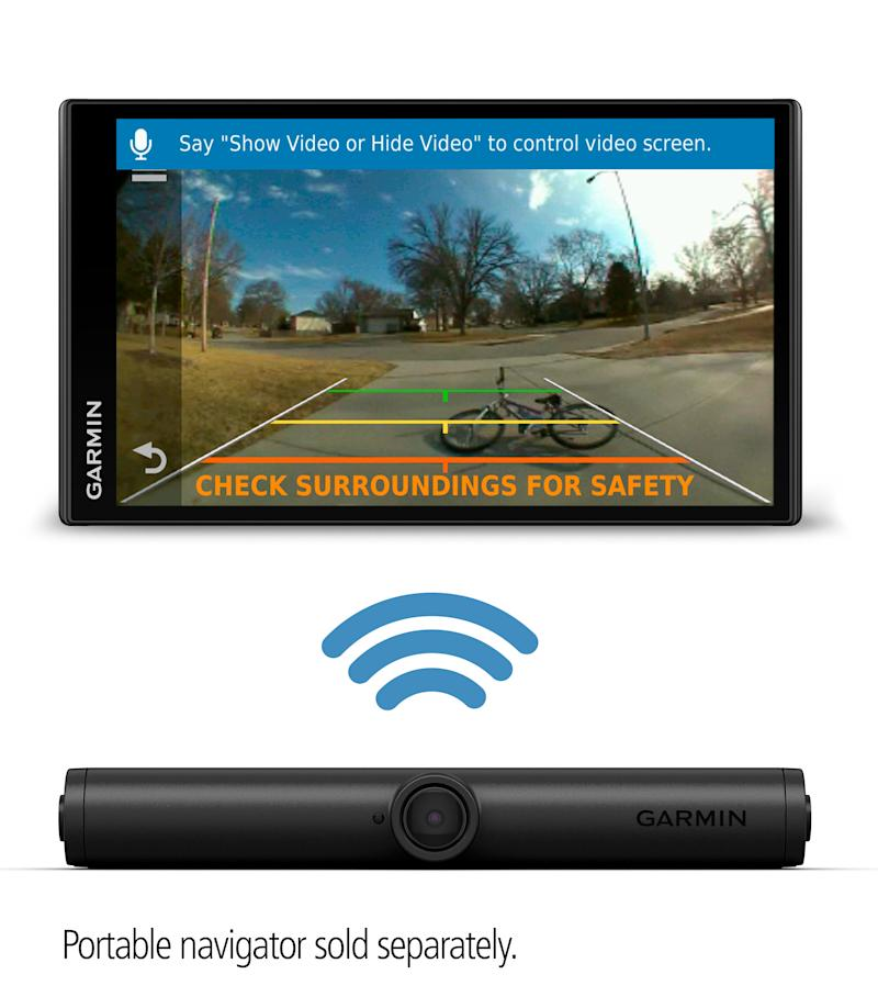 Garmin® makes it easy to see behind vehicles with the new wireless BC™ 40 backup camera