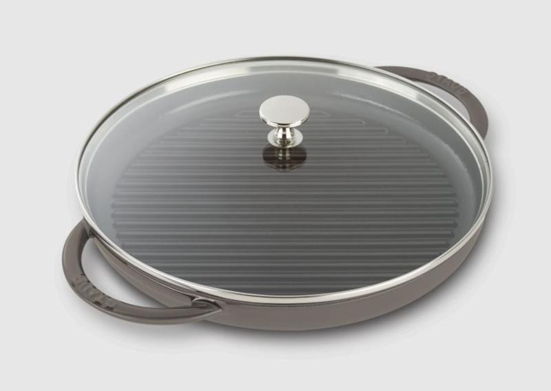 Staub grill pan, 10-inch
