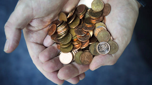 Last year Finance Minister Jim Flaherty asked people to donate their pennies to charity.