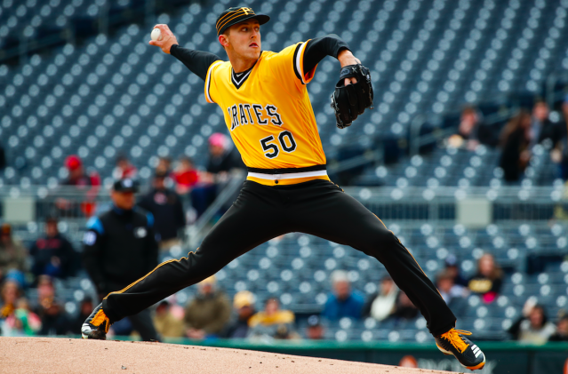 Jameson Taillon looks improved to start 2018. (AP Photo)