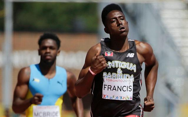 Miguel Francis has represented Antigua & Barbuda throughout his career - AP