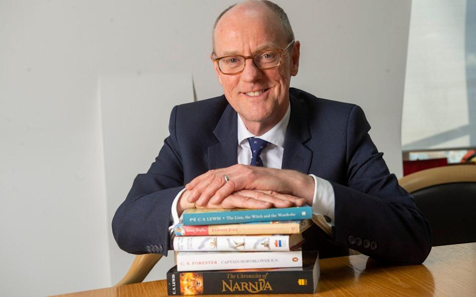 Nick Gibb, in less stressful times - Paul Grover for the Telegraph