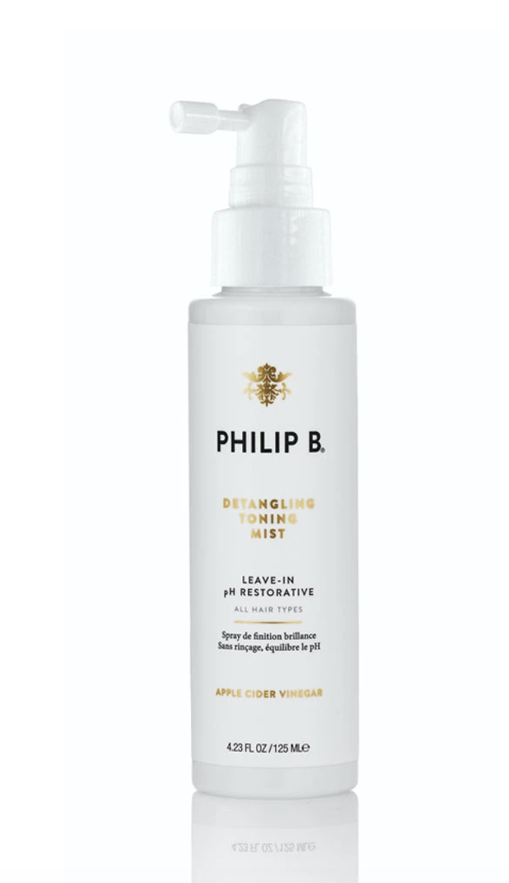 """<p><strong>Philip B.</strong></p><p>dermstore.com</p><p><a href=""""https://go.redirectingat.com?id=74968X1596630&url=https%3A%2F%2Fwww.dermstore.com%2Fproduct_Detangling%2BToning%2BMist_22359.htm&sref=https%3A%2F%2Fwww.bestproducts.com%2Fbeauty%2Fg34775518%2Fdermstore-black-friday-sale-2020%2F"""" rel=""""nofollow noopener"""" target=""""_blank"""" data-ylk=""""slk:Shop Now"""" class=""""link rapid-noclick-resp"""">Shop Now</a></p><p><strong><del>$28</del> $20 (30% off)</strong></p><p>Philip B's toning mist works to restore the pH that's thrown off by tap water, which in turns help with preventing breakage and damage. As an added bonus, it also adds lustrous shine. </p>"""