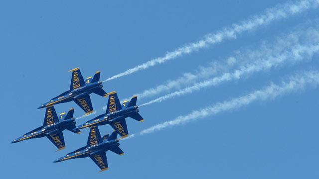 Sequester at Home: Florida Could Lose Blue Angels Shows, Medicare Payments