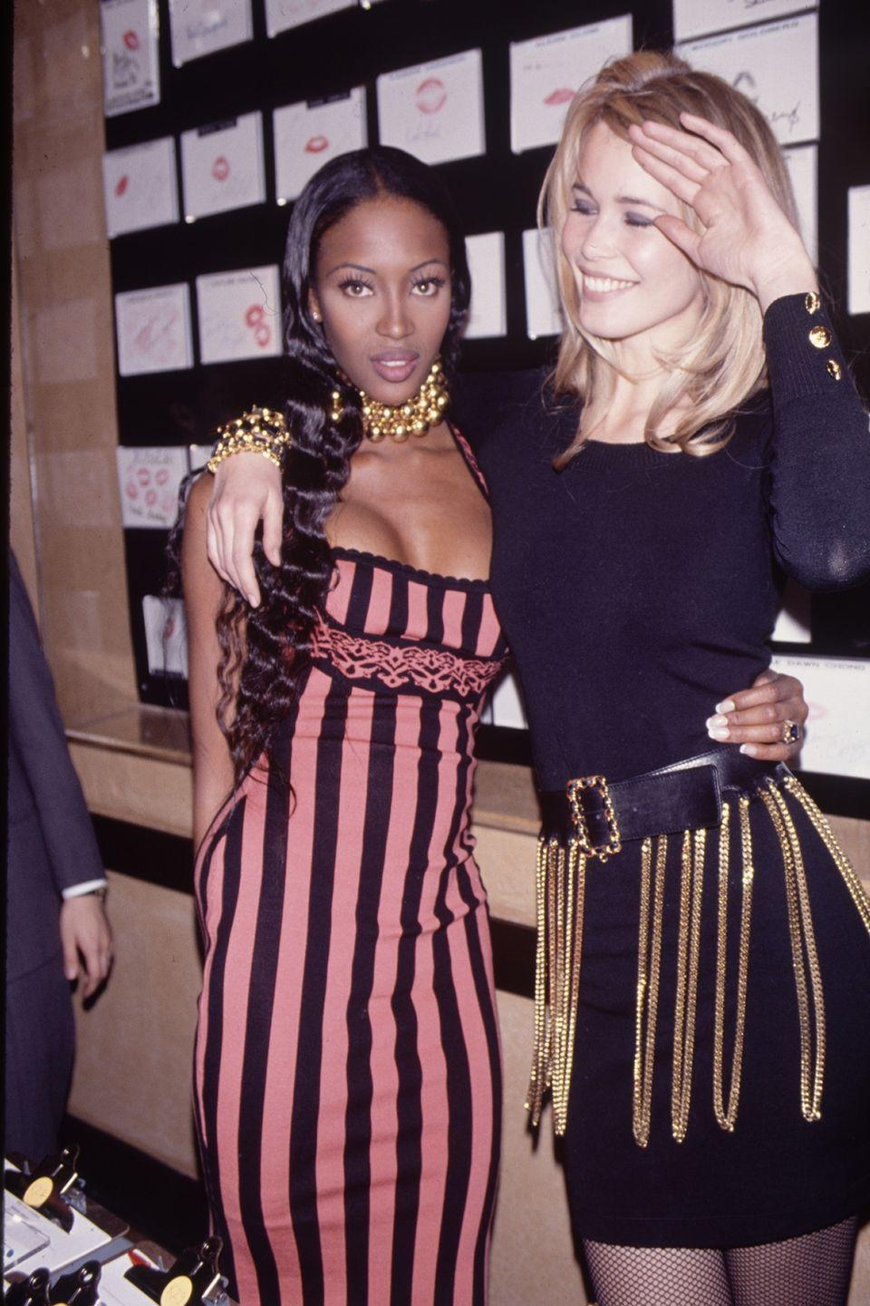 <p>With the one and only Naomi for a Chanel event– still THE best body in the industry.</p>