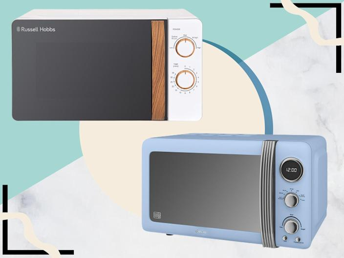 <p>Freestanding solo microwaves are most suited to anyone looking to just plug in and heat up</p> (The Independent)