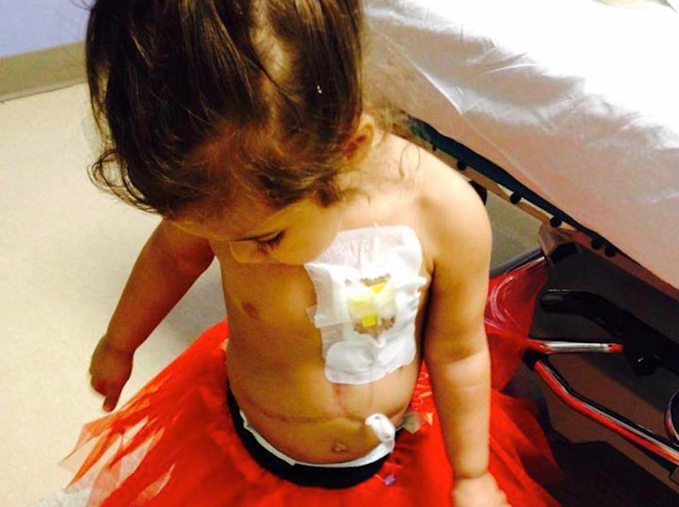 Seven-year-old Trinity underwent dozens of tests before being diagnosed with progressive familial intrahepatic cholestasis (PFIC), an ultra-rare disease believed to affect only one in every 50,000-100,000 children worldwide.