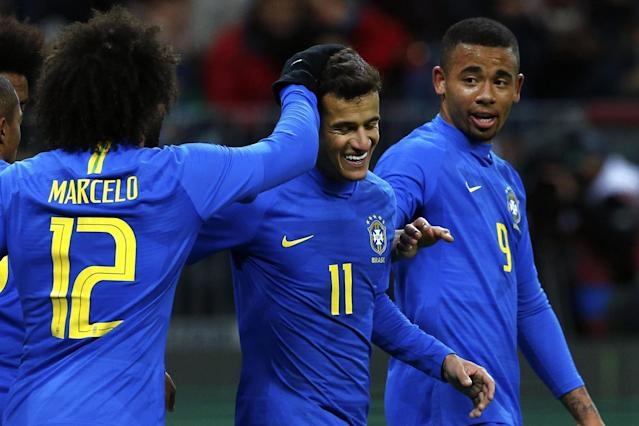 Russia 0 Brazil 3: Selecao make easy work of World Cup hosts in Moscow friendly