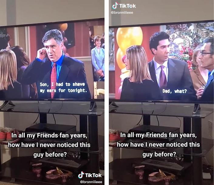 Where did Jack Geller go? A TikTok user noticed that Elliott Gould briefly disappears, with a stand-in seen in his place, in a season eight episode of