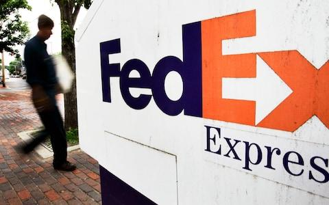 "FedEx said the packages were ""misrouted in error"" - Credit: AP"
