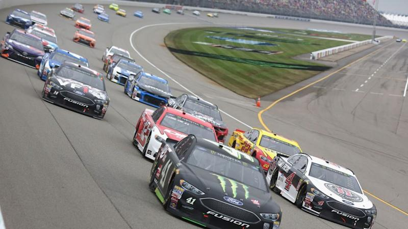 Consumers Energy 400 goes to Kevin Harvick