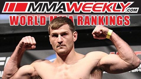 MMA Top 10 Rankings: Stipe Miocic Cracks Heavyweight List