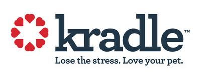 Official logo of Kradle calming CBD for dogs. (PRNewsfoto/Kradle LLC, a Coolhouse Botanic)