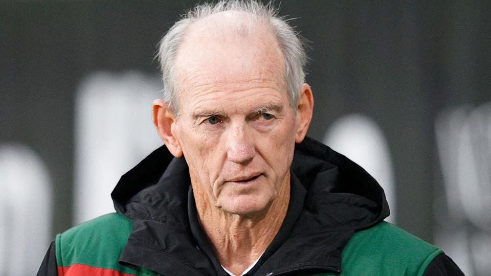 Pictured here, Wayne Bennett has hit out at claims he tried to go behind Anthony Seibold's back.