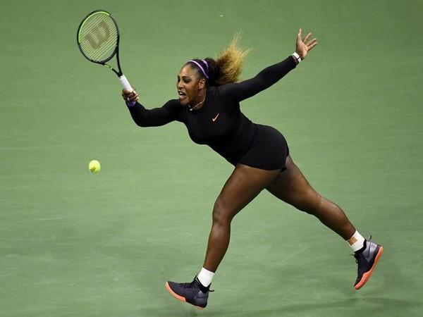 American tennis player Serena Williams
