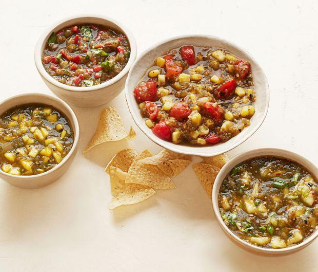 "<p>Punch up the store-bought stuff with easy mix-ins to make 'em taste homemade (we won't tell!).</p><p><em><em><a href=""https://www.goodhousekeeping.com/food-recipes/party-ideas/a25144/green-salsa-recipes"" rel=""nofollow noopener"" target=""_blank"" data-ylk=""slk:Get the recipe for Green Salsas »"" class=""link rapid-noclick-resp"">Get the recipe for Green Salsas »</a></em></em></p>"