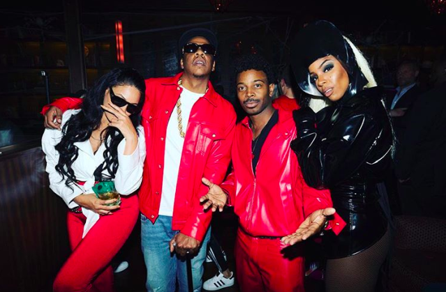 """<p>The songstress hosted a shindig, and of course her bestie Beyoncé was there. You may have heard — <a href=""""https://www.yahoo.com/entertainment/beyonc-jay-z-transform-lil-025302701.html"""" data-ylk=""""slk:Bey was Lil' Kim to Jay-Z's Notorious B.I.G.;outcm:mb_qualified_link;_E:mb_qualified_link"""" class=""""link rapid-noclick-resp newsroom-embed-article"""">Bey was Lil' Kim to Jay-Z's Notorious B.I.G.</a> Meanwhile, the hostess channeled Grace Jones as Strangé from the '90s Eddie Murphy film <em>Boomerang</em>. Fittingly, it looks like Rowland's hubby, Tim Weatherspoon, was Murphy. (Photo: <a href=""""https://www.instagram.com/p/Ba9jGOGjXqf/?hl=en&taken-by=kellyrowland"""" rel=""""nofollow noopener"""" target=""""_blank"""" data-ylk=""""slk:Kelly Rowland via Instagram"""" class=""""link rapid-noclick-resp"""">Kelly Rowland via Instagram</a>)<br><br></p>"""