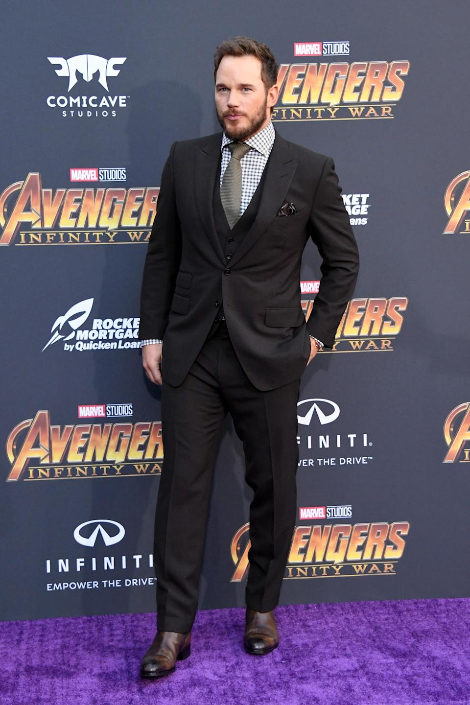 <p>Suited up. (Photo: Getty Images) </p>