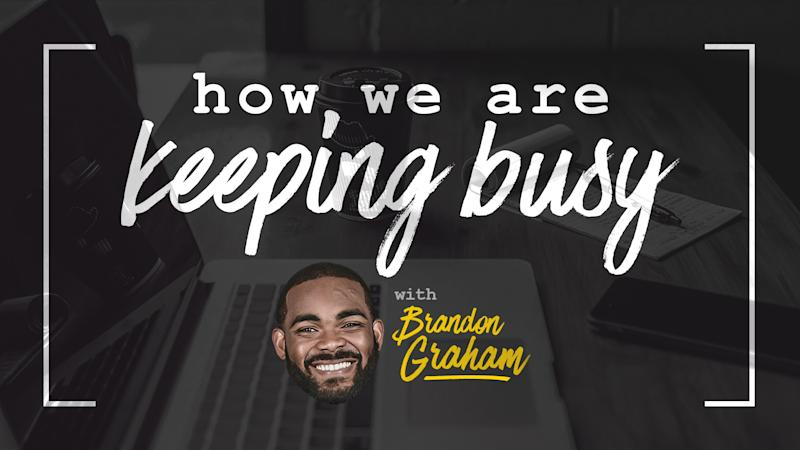 Brandon Graham is keeping busy with high school football tapes, 'Tiger King'