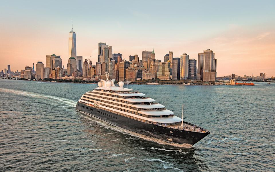 Cruise line Scenic is adding another small ship to its fleet, sister to Scenic Eclipse (pictured) - JONATHAN ATKIN