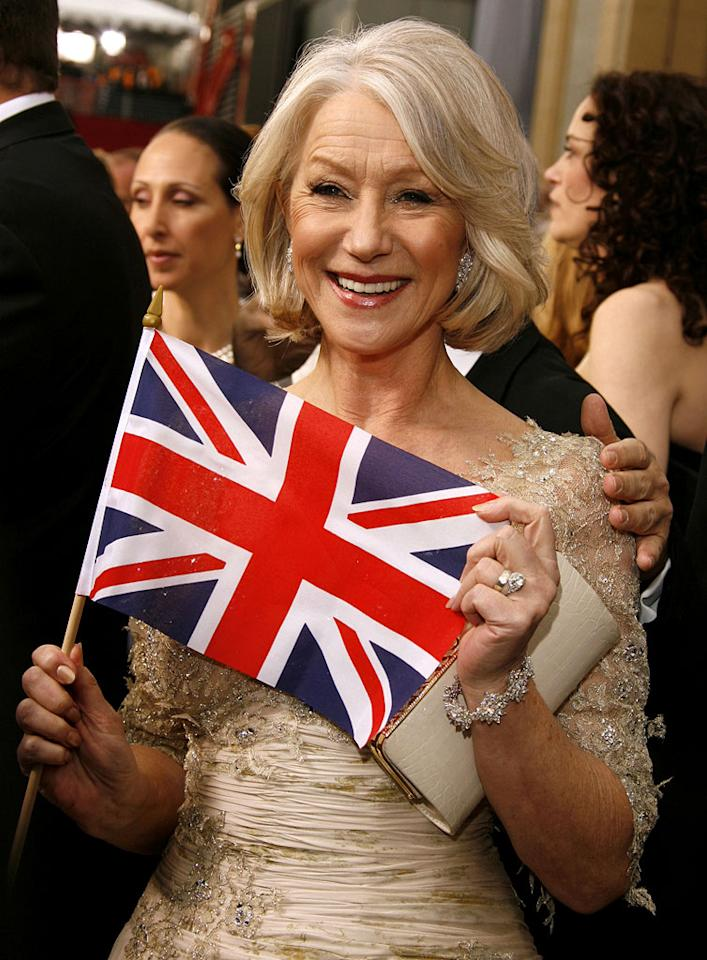 """Helen Mirren, nominee Best Actress in a Leading Role for """"The Queen"""" at <a href=""""/the-79th-annual-academy-awards/show/40213"""">The 79th Annual Academy Awards</a>."""