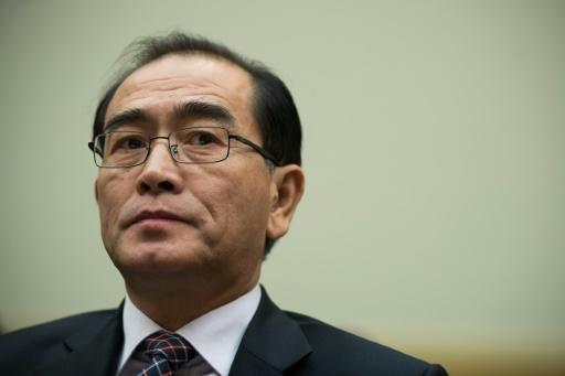 """Thae Yong-ho said the current whirlwind of diplomacy will not end with """"a sincere and complete disarmament"""" but with """"a reduced North Korean nuclear threat"""""""