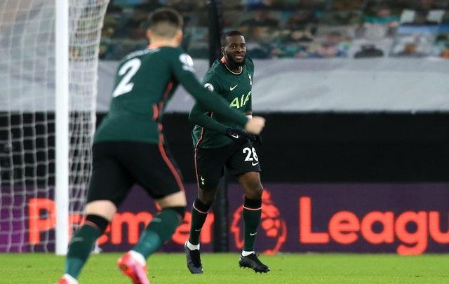 Tottenham could not build on Tanguy Ndombele's early goal
