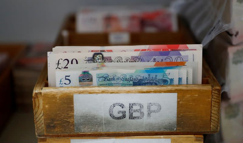Sterling gains, shrugs off unexpected weaker August sales data