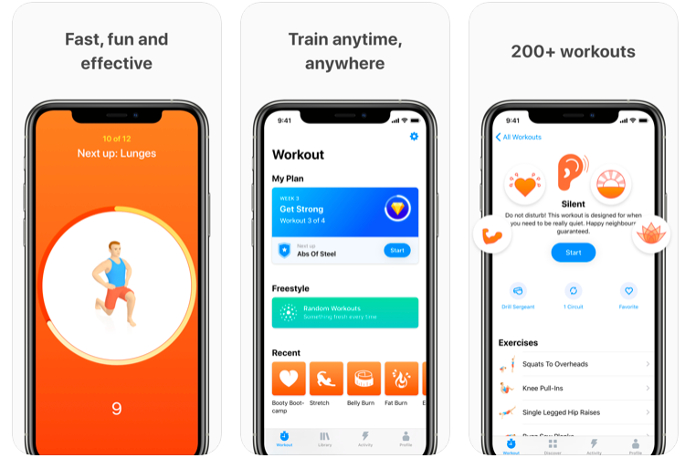 """<p>Got seven minutes to put aside daily? Perfect for the """"I don't have time to exercise"""" posse, 'Seven' is a fast, fun and effective app that uses """"scientific studies to provide the maximum benefit in the shortest time possible,"""" whether you want to gain muscle, lose fat or just maintain fitness. Using a bank of 200 exercises, you can tailor your workout to what you need. Did we mention that it's free, too?</p>"""
