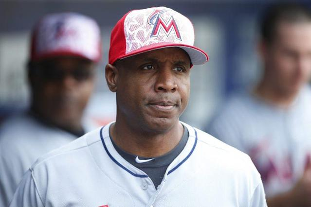 Barry Bonds has been let go by the Marlins after one season as the club's hitting coach. (Getty Images/Rich Schultz)