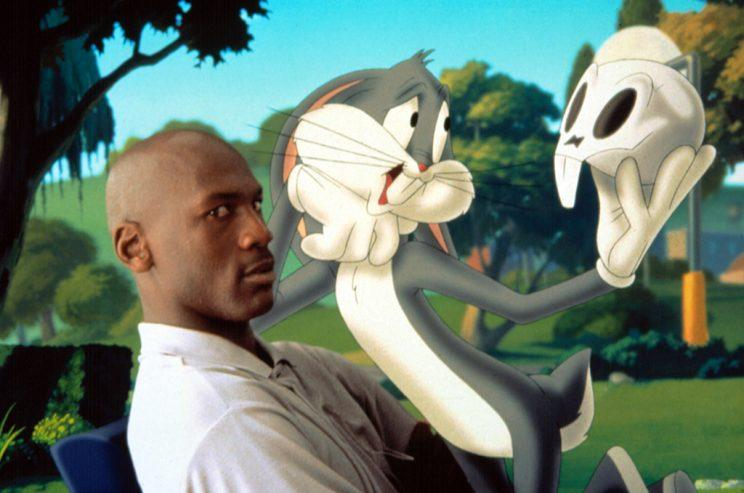 Michael Jordan and Bugs Bunny in 'Space Jam' (Photo: Everett)
