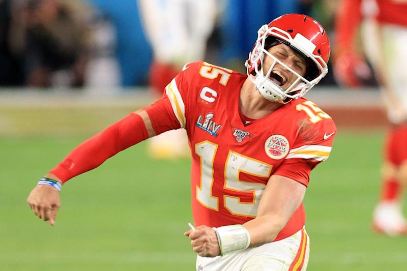 Patrick Mahomes' defending NFL champion Kansas City Chiefs will headline MNF in week three Photo: Getty Images