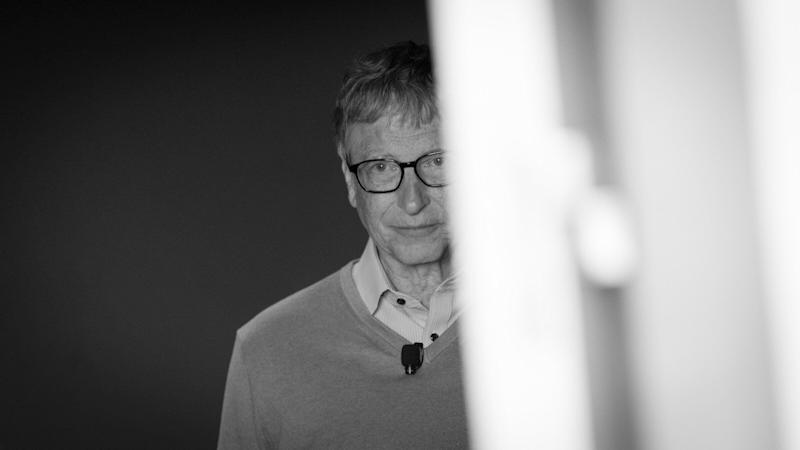 Bill Gates en blanco y negro. (Photo: Getty Images )