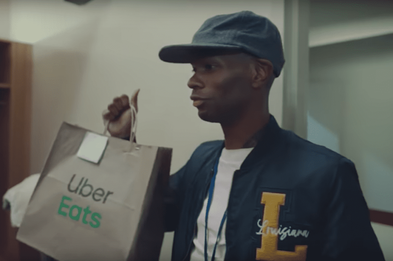 Uber Eats Gets Bang For Its Advertising Buck During the NCAA Tournament