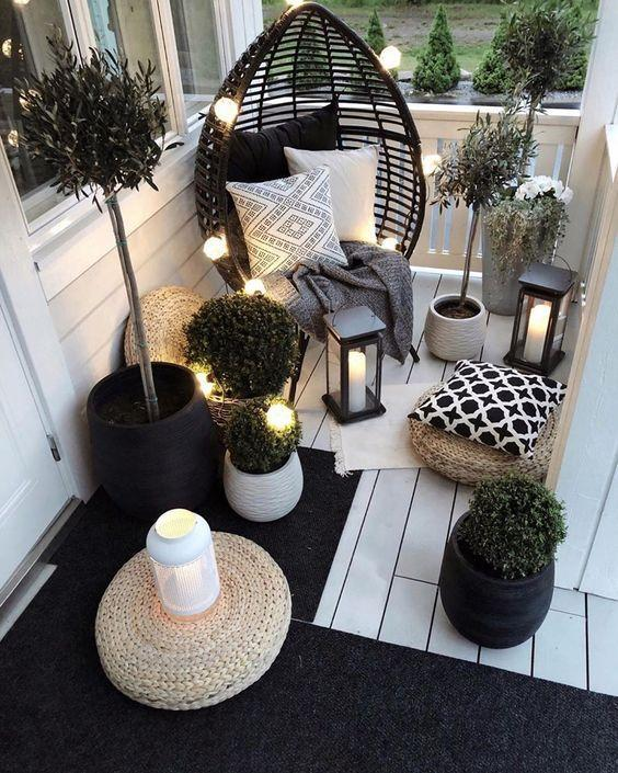 A cosy corner of a home. Photo: My Domaine/Pinterest