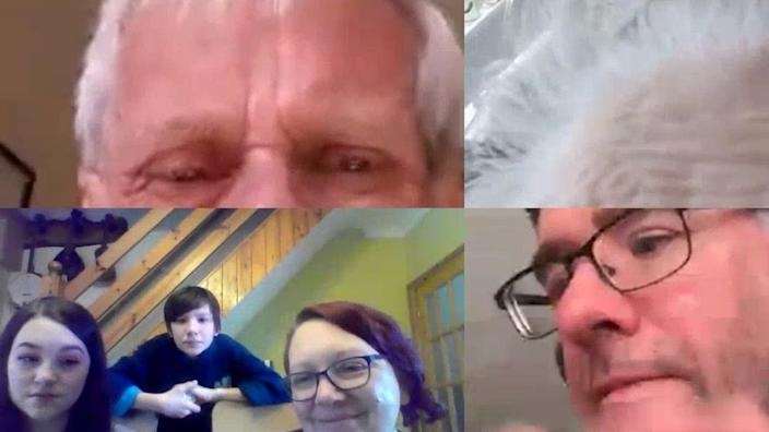 The Webb family used conference video call apps to visit Kathleen Webb virtually as she was dying in hospital during the coronavirus lockdown